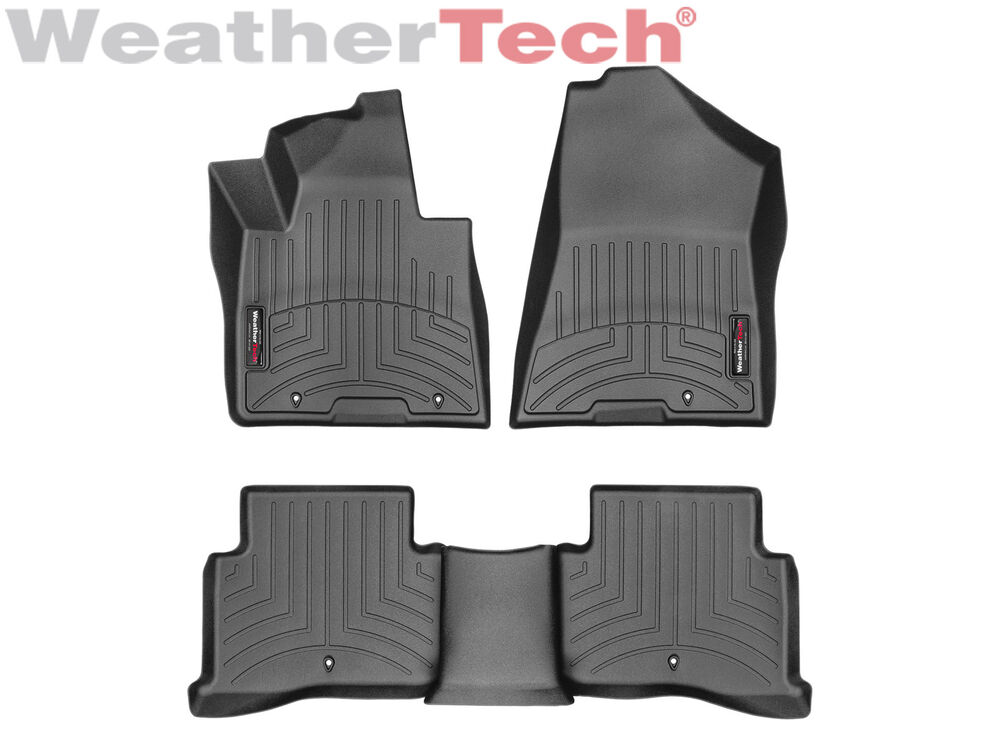 Weather Mats For Your Car >> WeatherTech Floor Mats FloorLiner for Kia Sportage - 2017 - Black | eBay