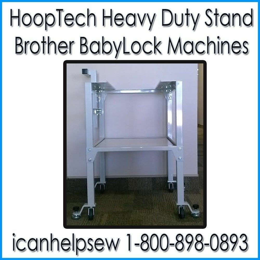 HEAVY DUTY Embroidery Stand for All Baby Lock 6 and 10 Needle ...