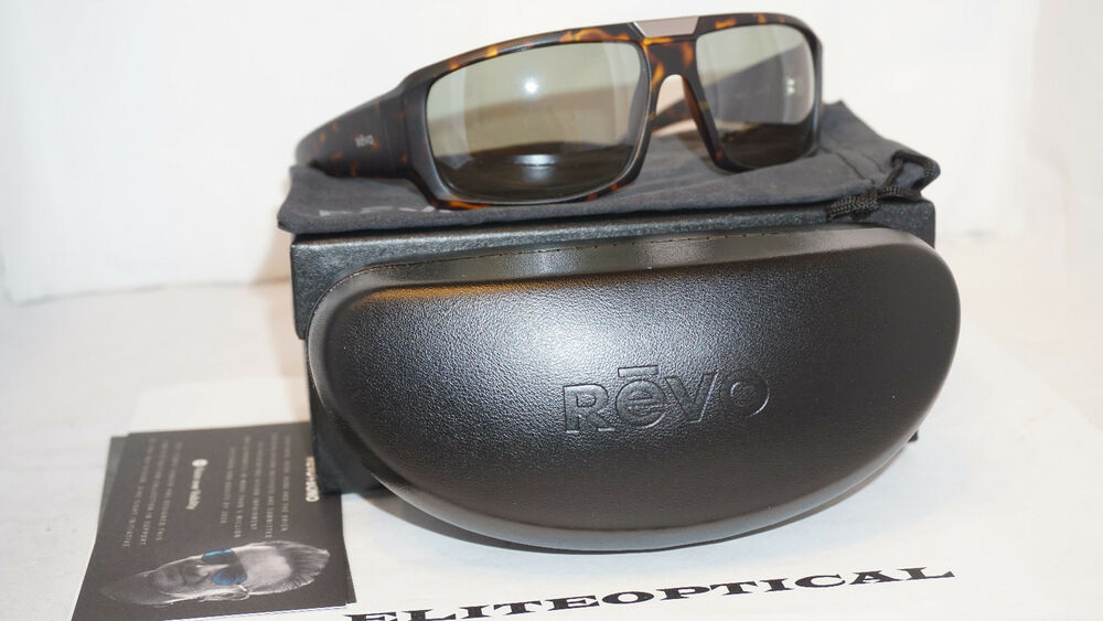 63168e3cfcb New Authentic Revo Bono Collection Apollo Mtt Tortoise Grn Polar RB 1004 02  BGR