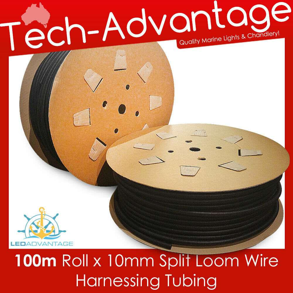 100m roll x 10mm boat caravan electrical conduit wire