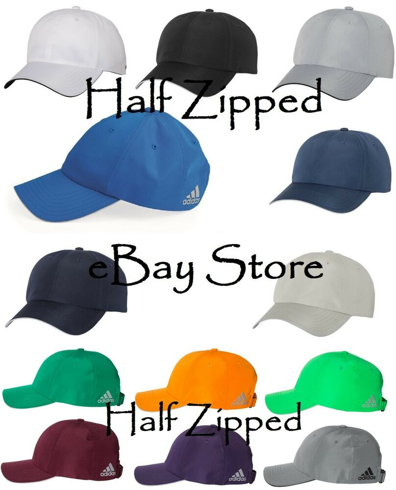 29876df4f7a Adidas Performance Relaxed Poly Cap A605 Golf Baseball Hat Unstructured