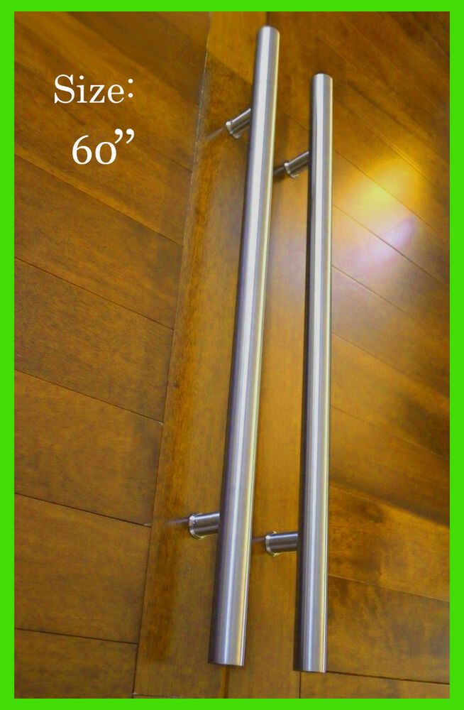 Door Pull Handle Front Entry Modern Stainless Steel