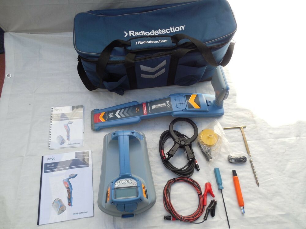 Radiodetection Cable Locators : Radiodetection rd dl tx cable pipe locator super