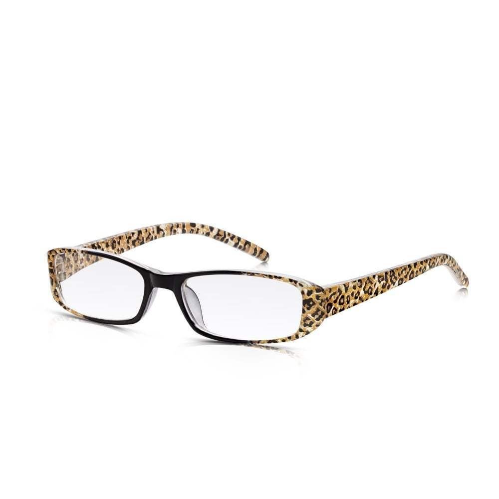3119e5a557a Details about Ladies Leopard Print Reading Glasses  Lightweight   Durable  with Optical Lenses