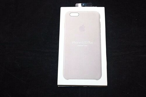 Genuine Apple iPhone 6s Plus Leather Case MKXE2ZM/A - Rose Gray *READ*