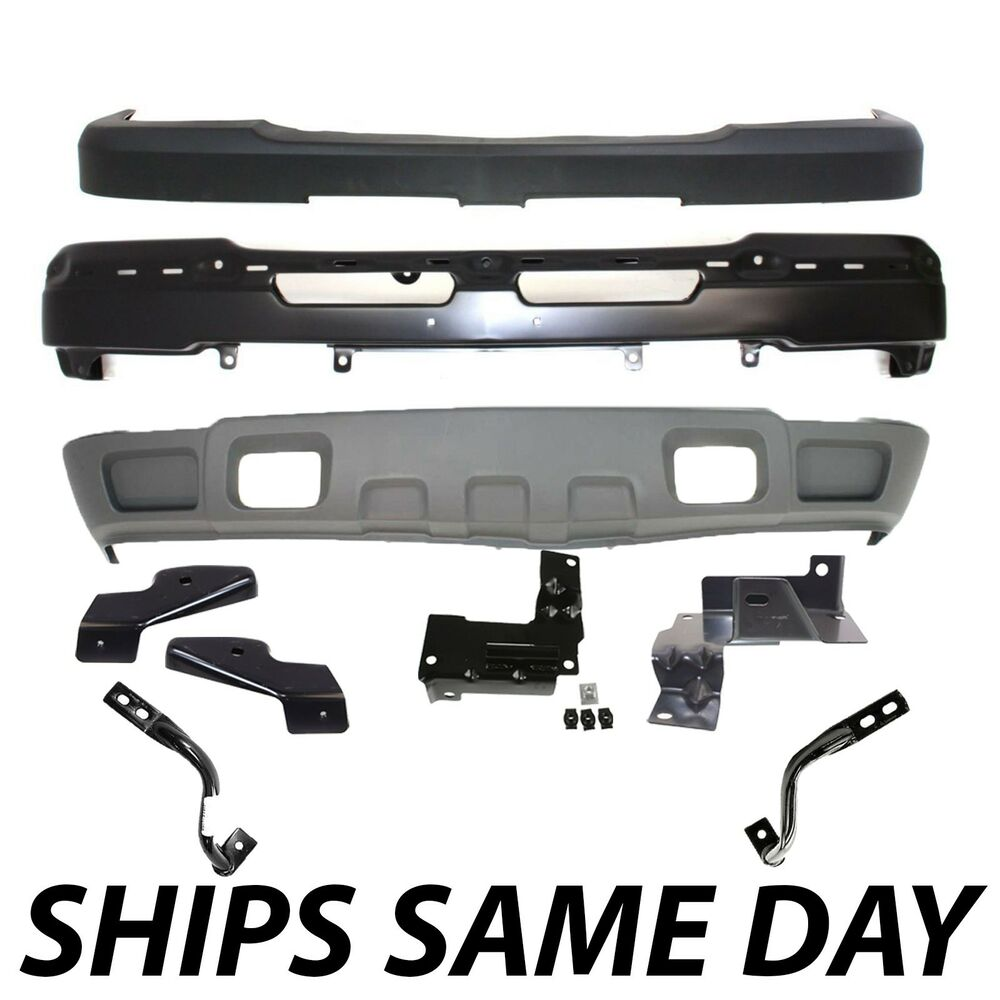 Steel Front Bumper Kit For 2003-2007 Chevy