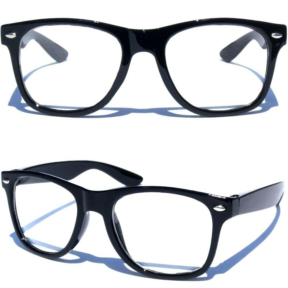 7437e7b6712 Details about SMALL KIDS SIZE CLEAR LENS GLASSES Horn Rim Nerd Hipster Geek Retro  Toddler
