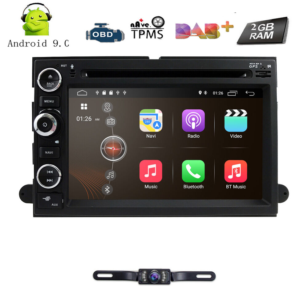 camera android 7 1 7 hd car dvd player gps for ford f150. Black Bedroom Furniture Sets. Home Design Ideas