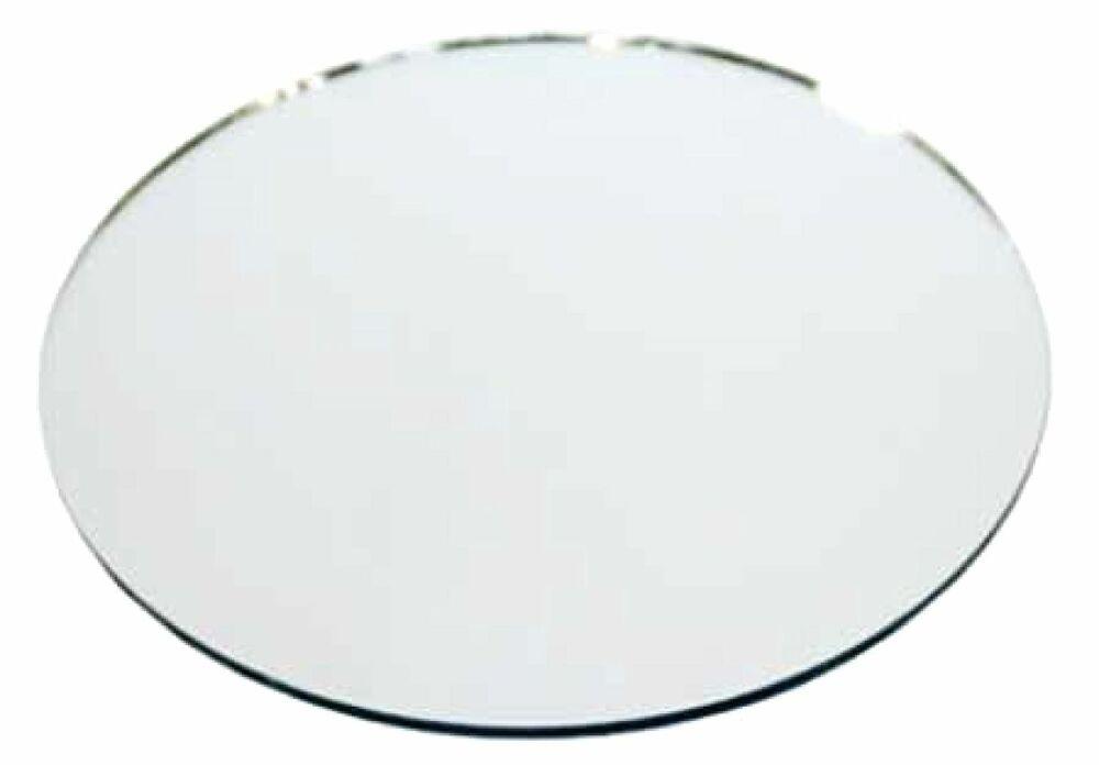 round glass table mirrors 12 inch diameter set of 10 pcs