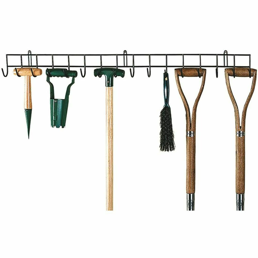 Hanging Rack Garden Tools Holder Wall Storage Metal