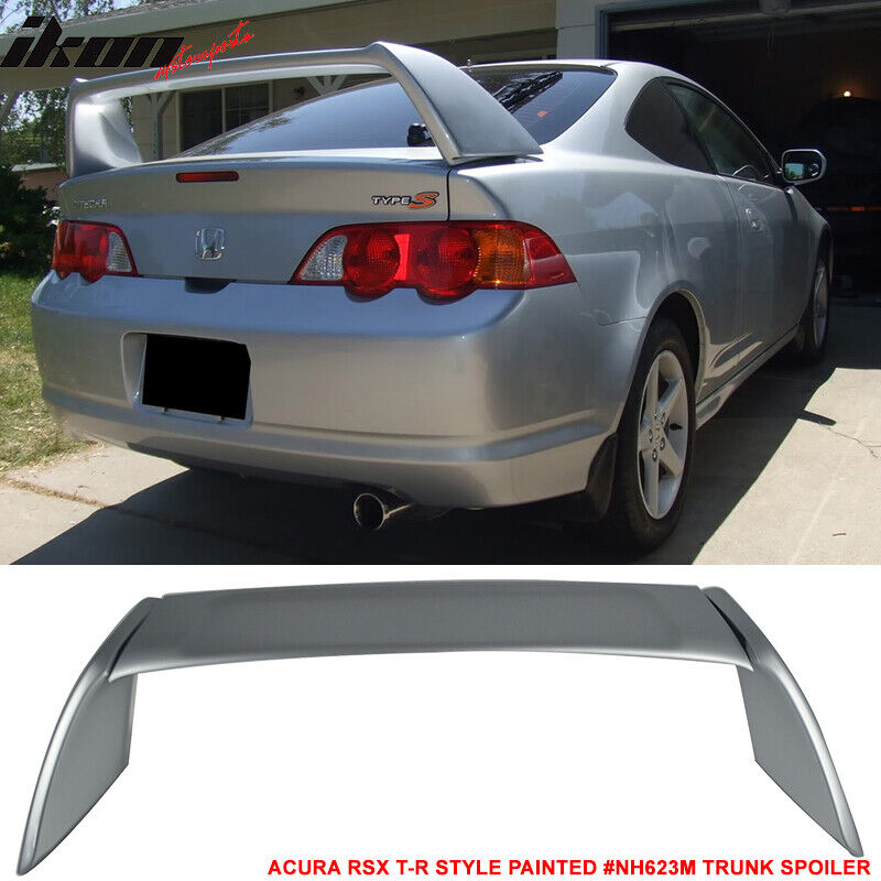 02-06 ACURA RSX DC5 Type R Trunk Spoiler Painted Satin