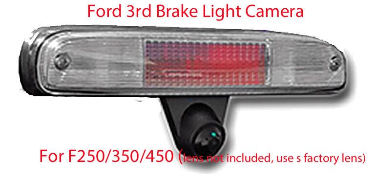 Ford 3rd Brake Light Replacement Backup Camera 2004 16