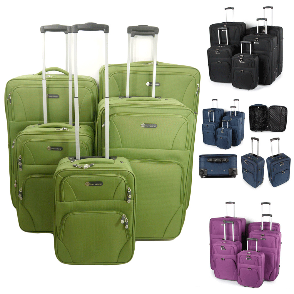 Extra Large Medium Small Cabin Travel Trolley Luggage Suitcase Bag ...