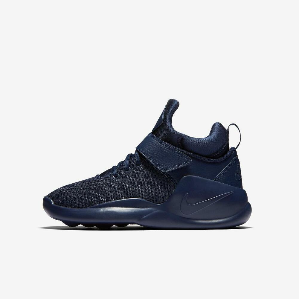 brand new 9512d 541ff Details about NIKE KWAZI (GS) 845075 400 MIDNIGHT NAVY BLUE - STRAP -  BREATHABLE MESH - CASUAL