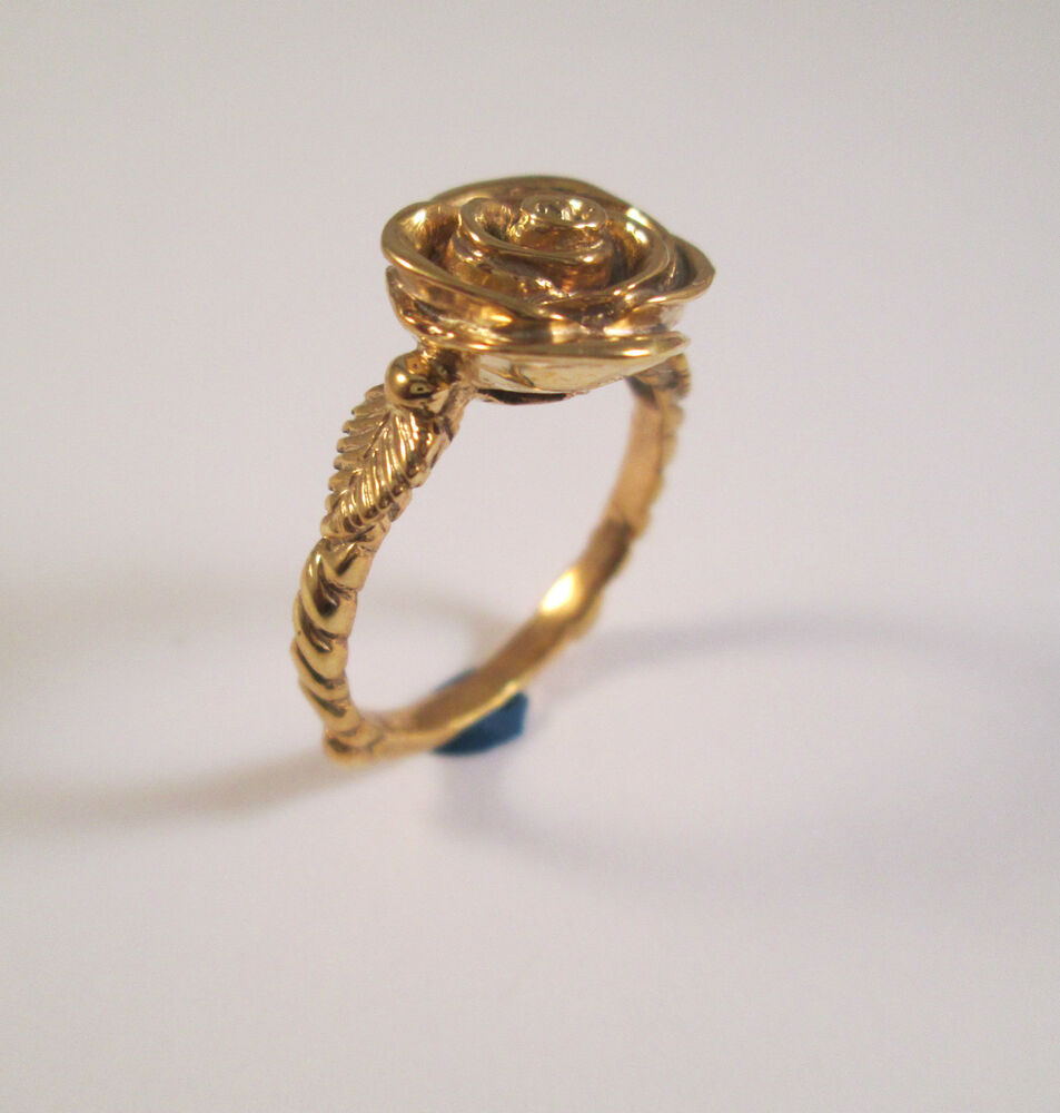 14 Kt Solid Yellow Gold Rose Ring Size 9  Ebay. Chanel Brooch. Engagement Ring Gemstone. Pure Gold Jewellery. Gemstone Bracelet. Silver Rings. Pave Anniversary Band. Sliver Watches. 5 Diamond Anniversary Band
