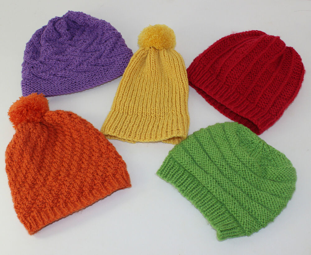 Easy Knitting Patterns Instructions : Printed knitting instructions easy design baby beanie