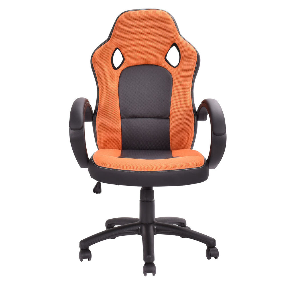 high back executive bucket seat racing style chair