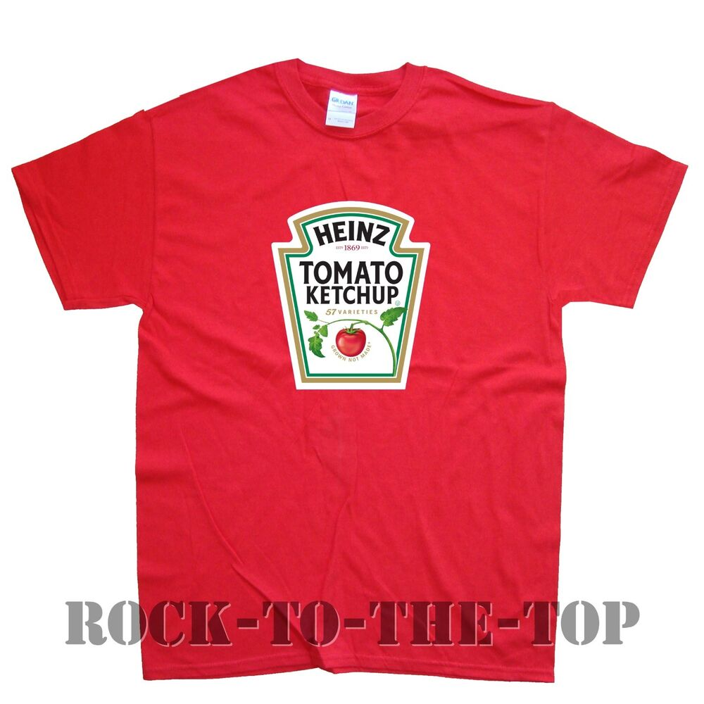 Details about HEINZ TOMATO KETCHUP new T-SHIRT in 15 Colours sizes S M L XL  XXL 444c16d26005