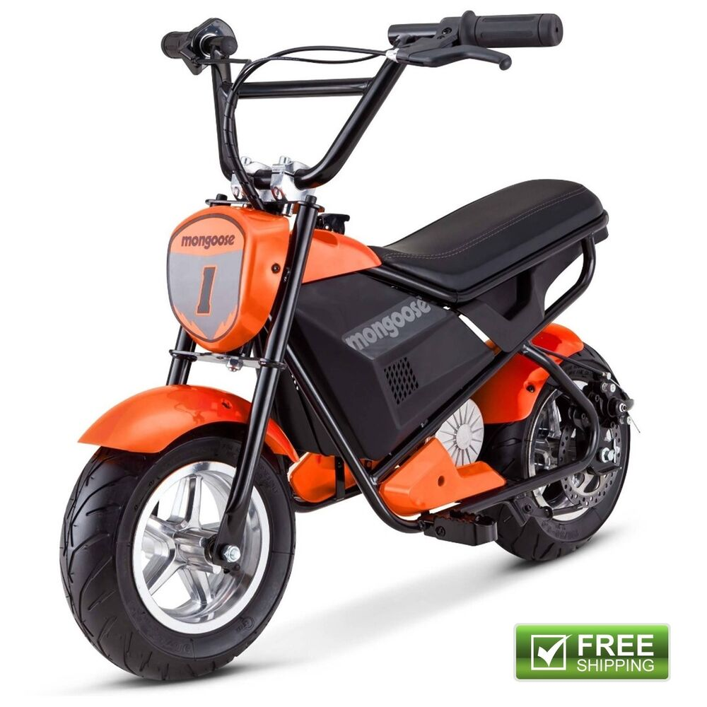 mongoose mini electric bike scooter rechargeable battery. Black Bedroom Furniture Sets. Home Design Ideas