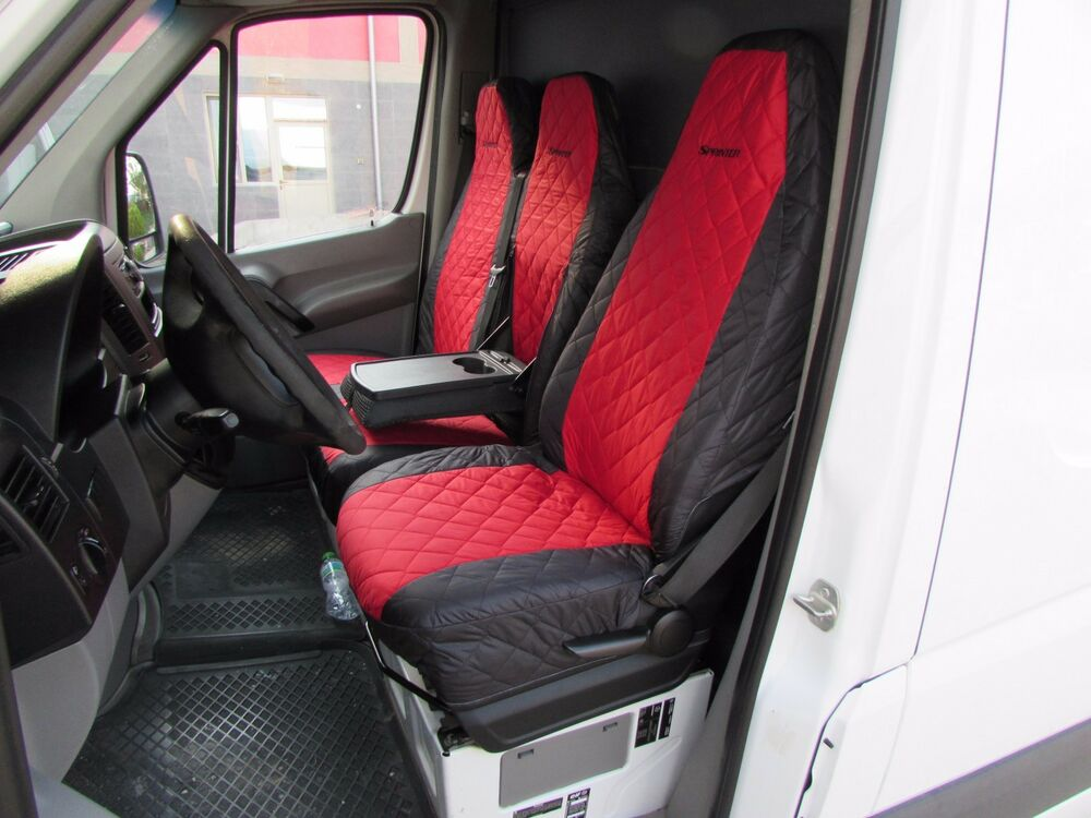 Mercedes Sprinter Dodge Sprinter 2006 2016 Front Seat Covers 1 Single 1 Double Ebay