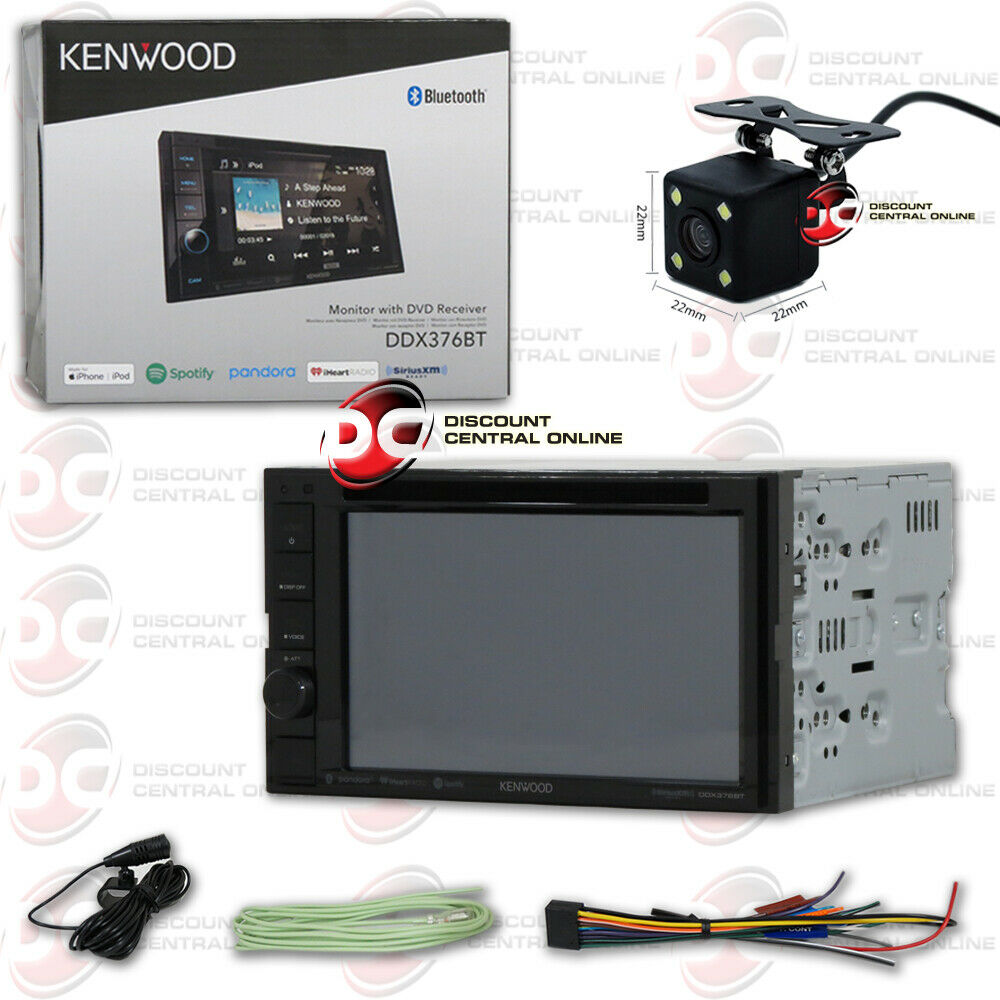 "Kenwood Touchscreen Radio >> KENWOOD CAR DDX373BT 6.2"" TOUCHSCREEN BLUETOOTH STEREO FREE 170° BACKUP CAMERA 