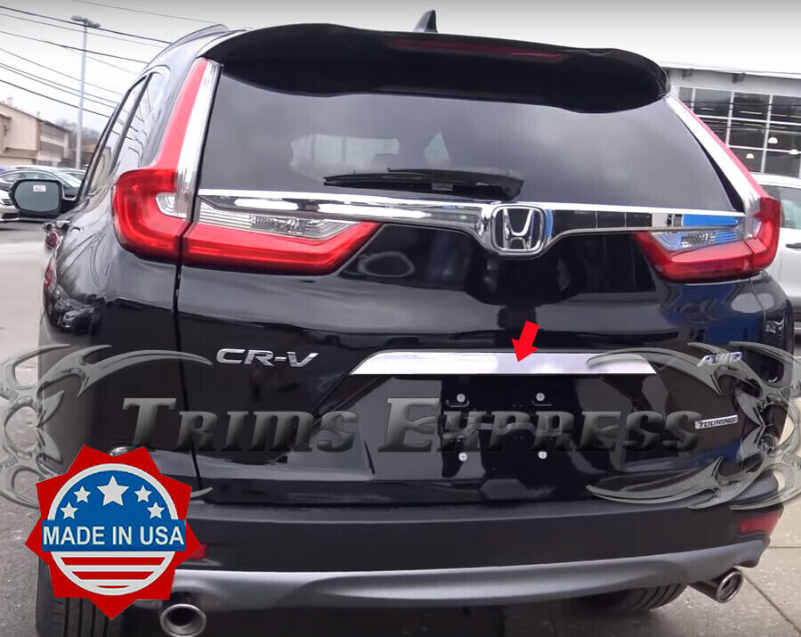 Fits for Honda CRV 2017-2019 Rear Tailgate Bazel Lid Cover Trim Accessories