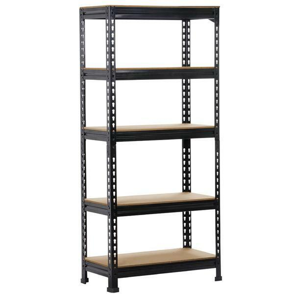 metal storage shelves heavy duty steel 5 level garage shelf metal storage 23296