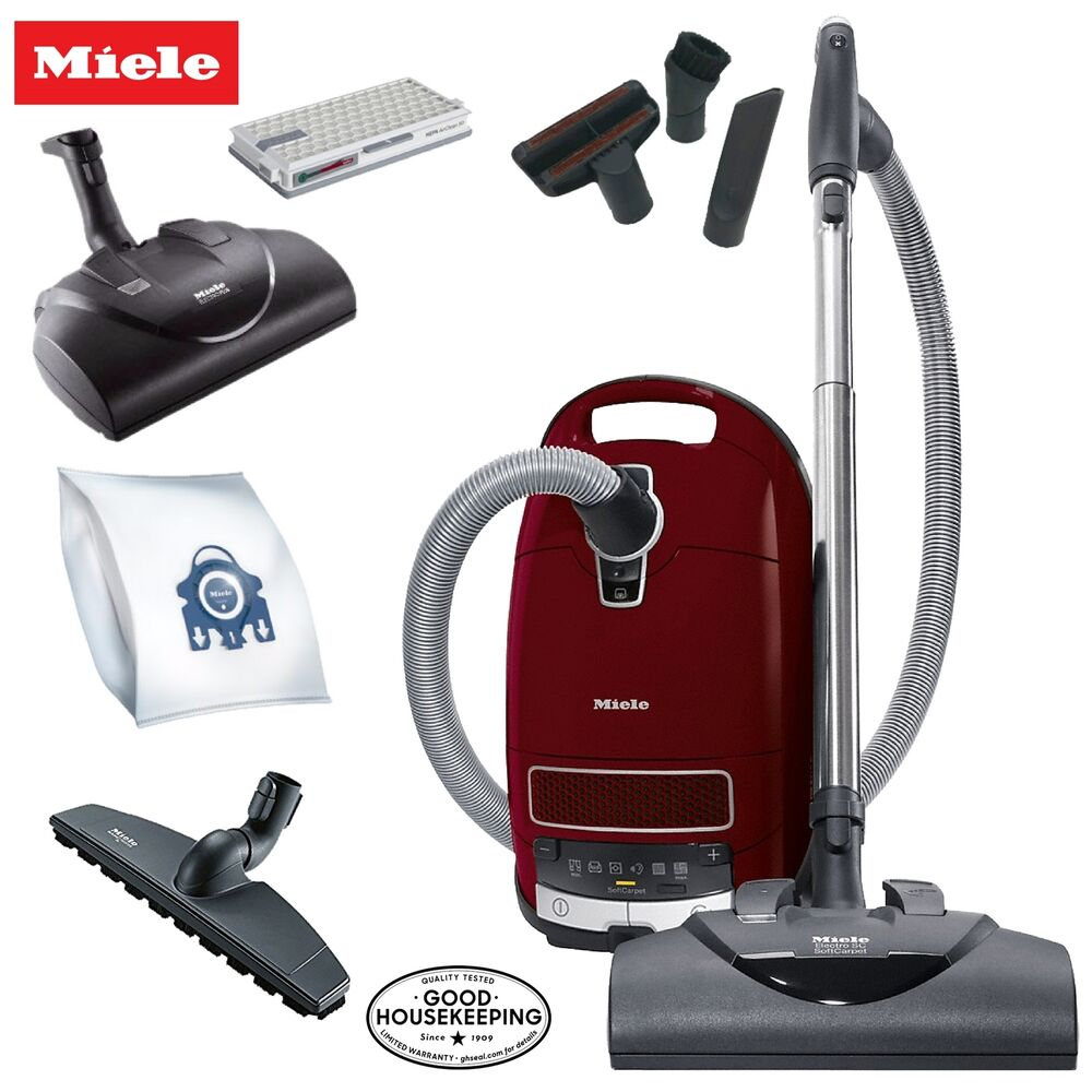 Miele Soft Carpet C3 Complete Canister Vacuum Cleaner