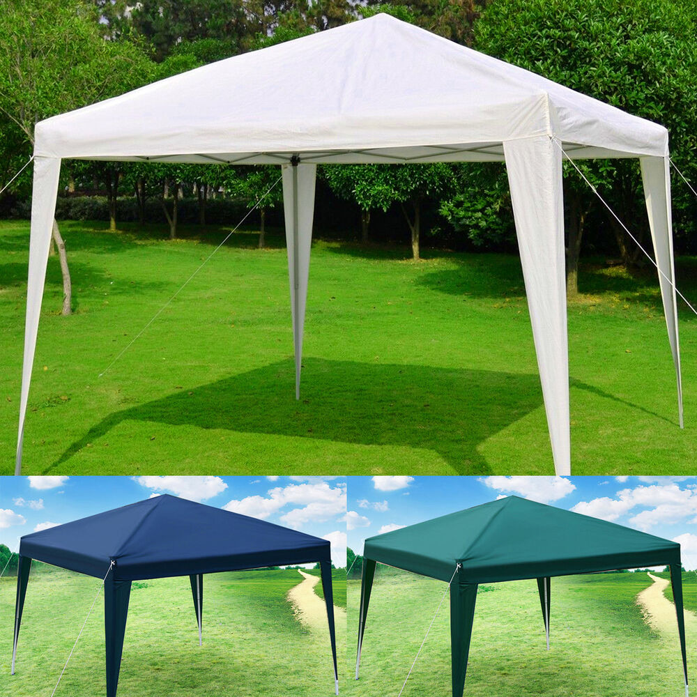 10 X10 Eazy Pop Up Canopy Tent Gazebo Wedding Party