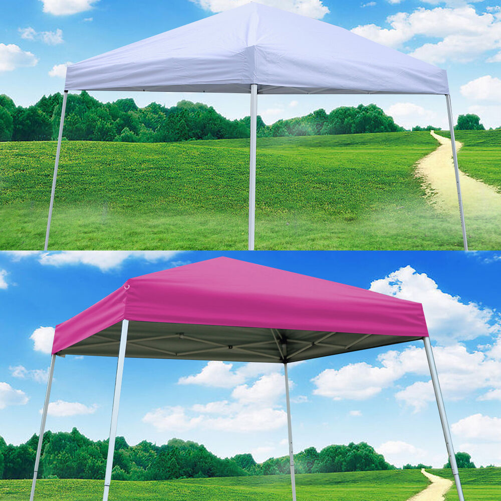 Ez Pop Up Wedding Party Tent Folding Gazebo Beach Canopy W