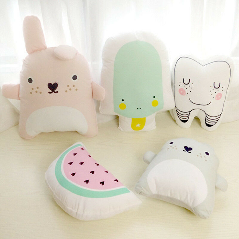 Cute Pillow For Kid : Baby Catoon Pillow Kids Cute Cushion Cotton Baby Room Decor Child Bed Doll eBay