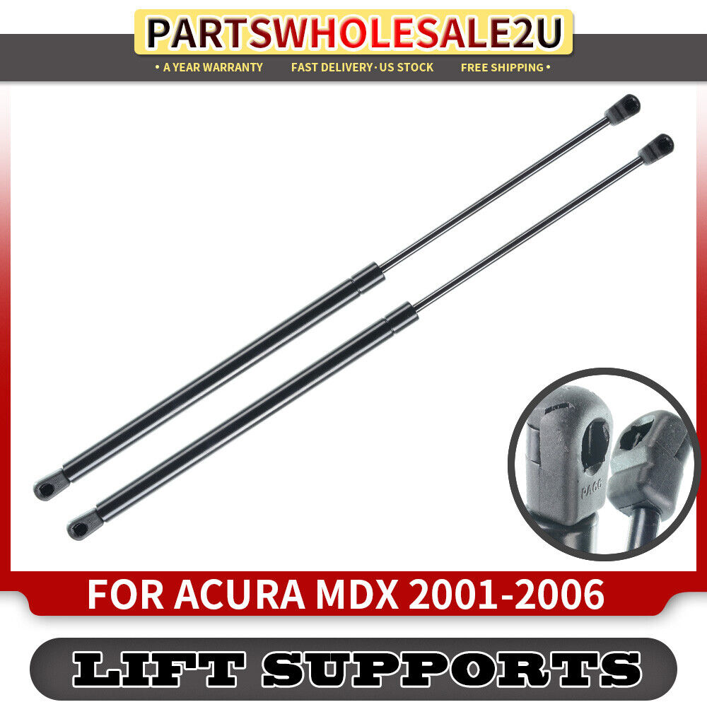 2 Hood Bonnet Lift Supports Shock Struts For Acura MDX