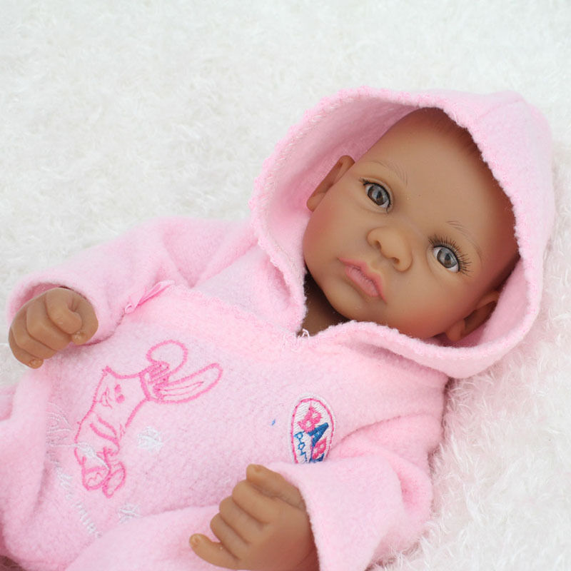 Black African American Reborn Baby Girl Dolls 11 Quot Full