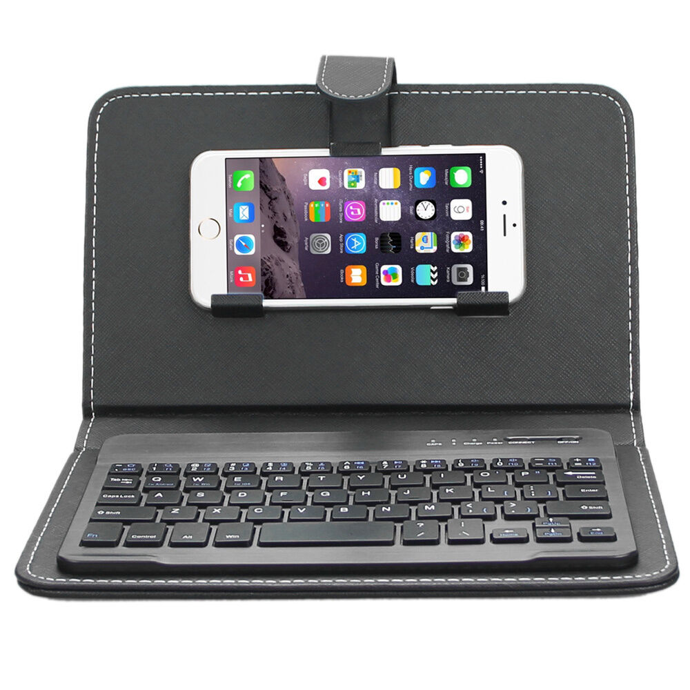 bluetooth for iphone 6 plus enkay wireless bluetooth keyboard leather for iphone 16739