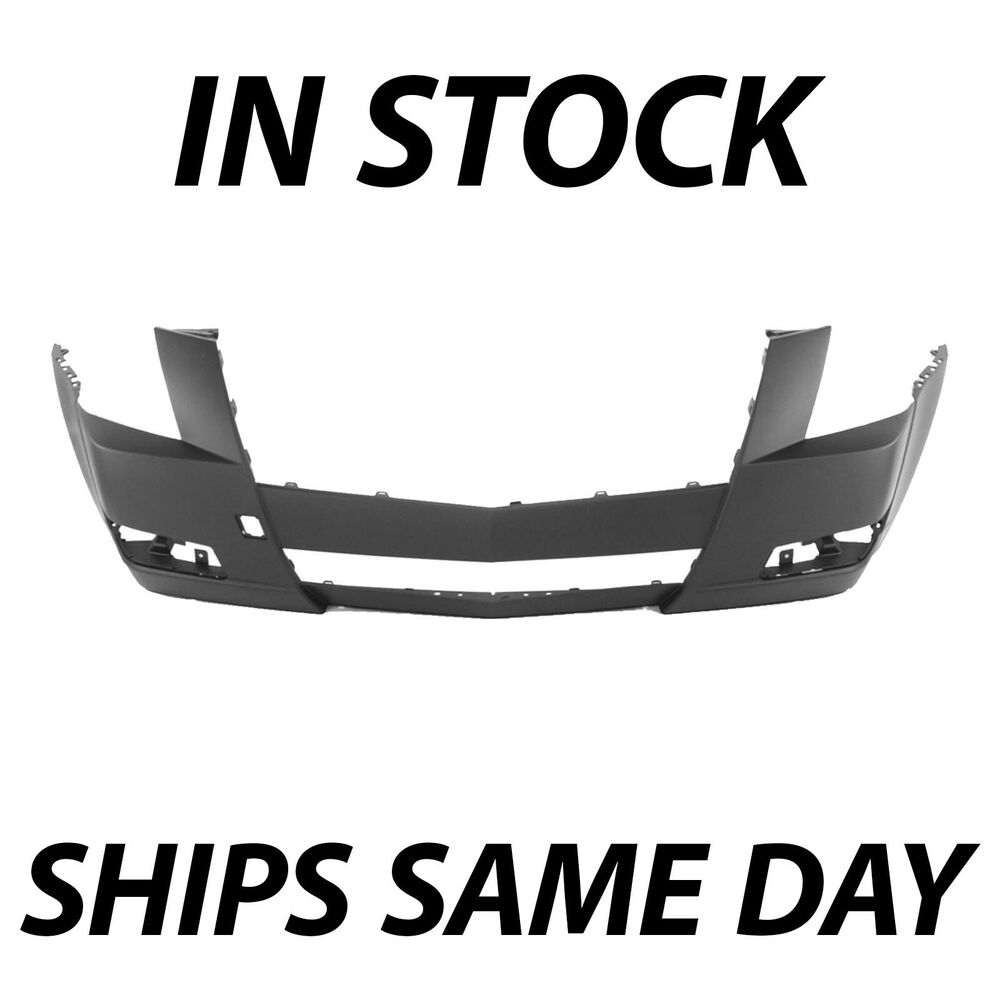 Cadillac Cts Windshield Replacement: Primered- Front Bumper Cover Fascia Replacement For 2008-2014 Cadillac CTS 08-14