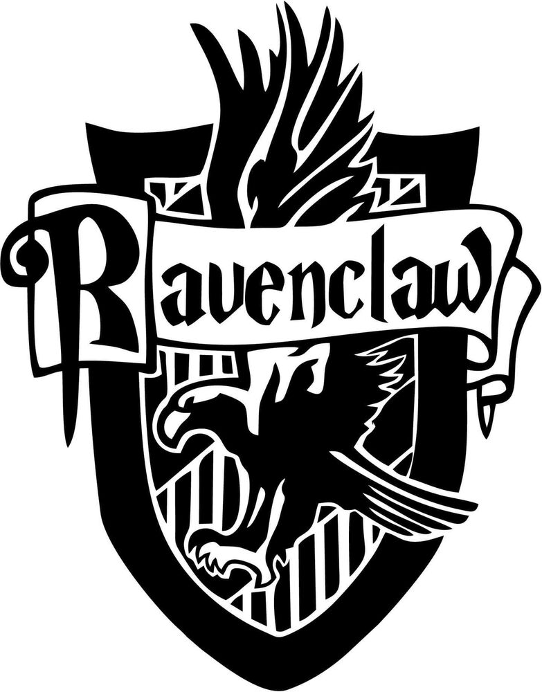 Harry Potter Ravenclaw House Vinyl Car Window And