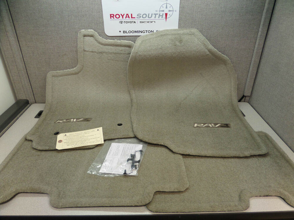 toyota rav4 floor mats ebay autos post. Black Bedroom Furniture Sets. Home Design Ideas