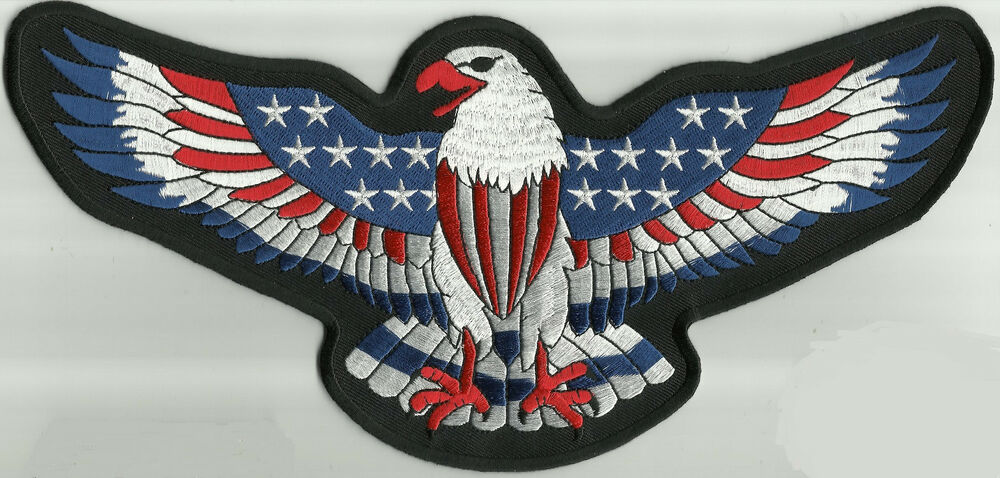 Motorcycle Jacket Patches Large