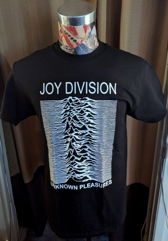 brand new white joy division unknown pleasures graphic on. Black Bedroom Furniture Sets. Home Design Ideas