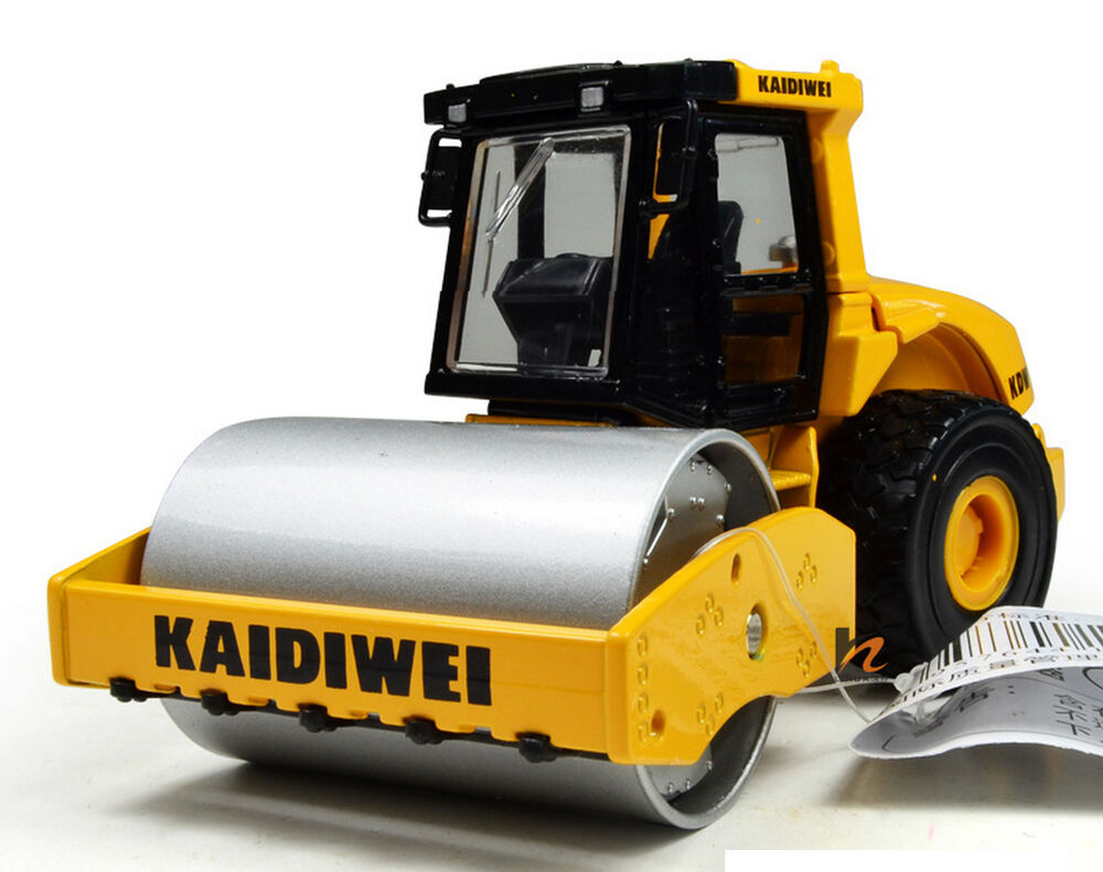 Toy Construction Equipment : Drum compactor roller construction vehicles equipment
