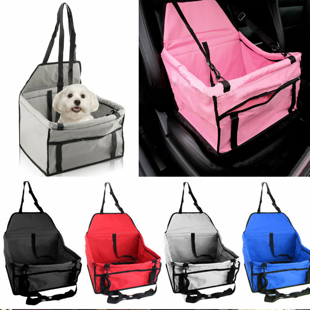 puppy pet dog cat car seat safety car seat belt cover booster bag for dog hot ebay. Black Bedroom Furniture Sets. Home Design Ideas
