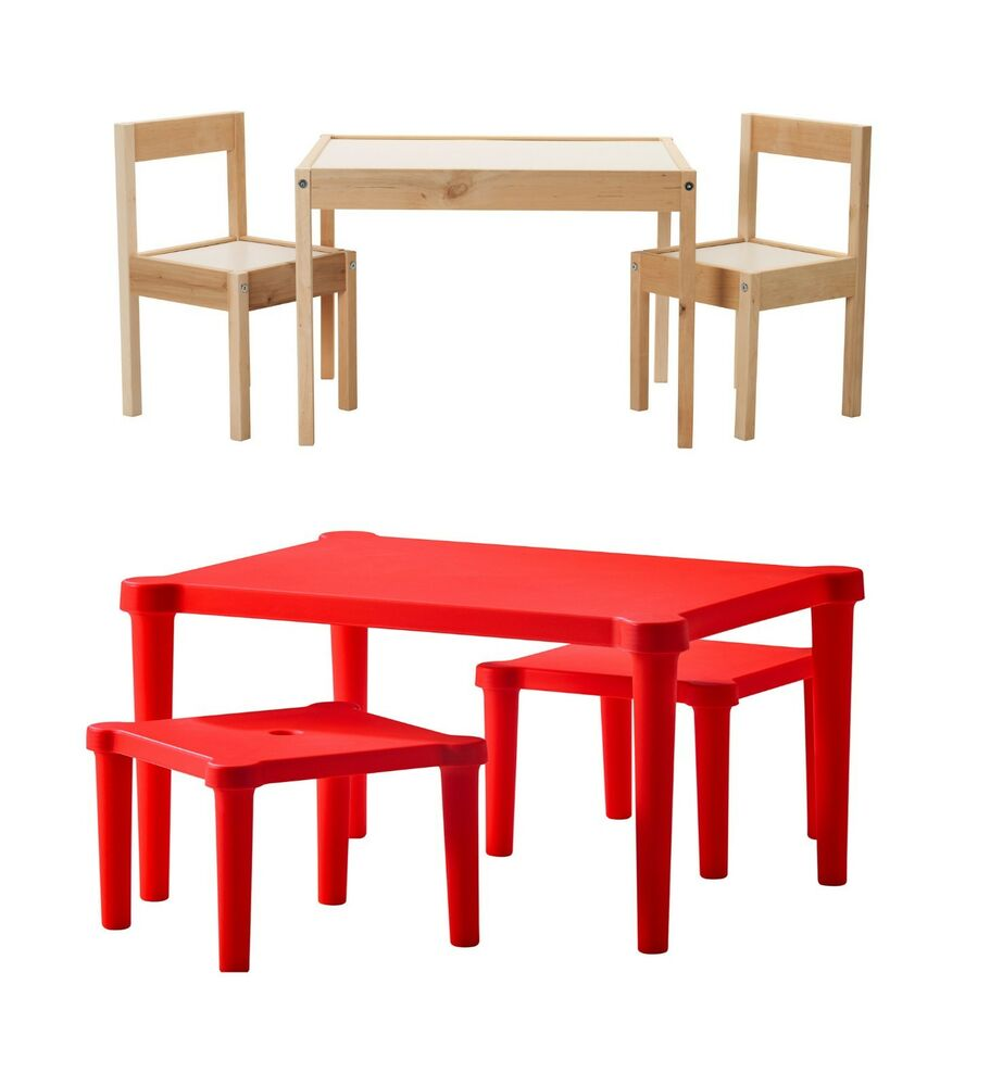 Childrens Table With Chairs and Table With Stool Suitable For indoor & Ou