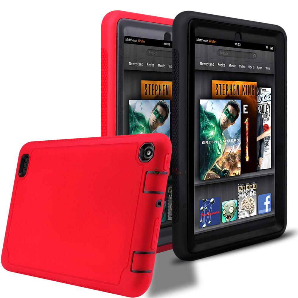 Shockproof silicone case cover for amazon kindle fire 7 for Amazon casa