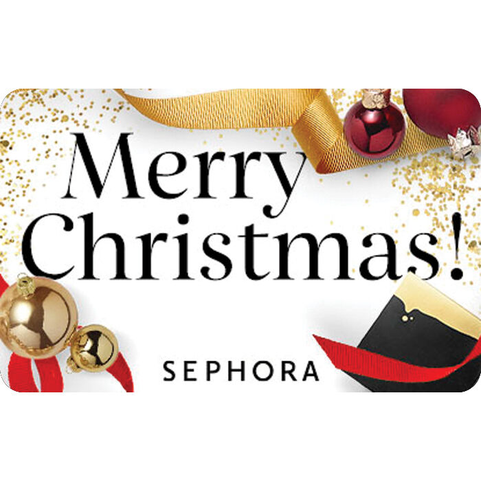 Sephora Gift Card - Merry Christmas - $25 $50 or $100 - Fast Email ...