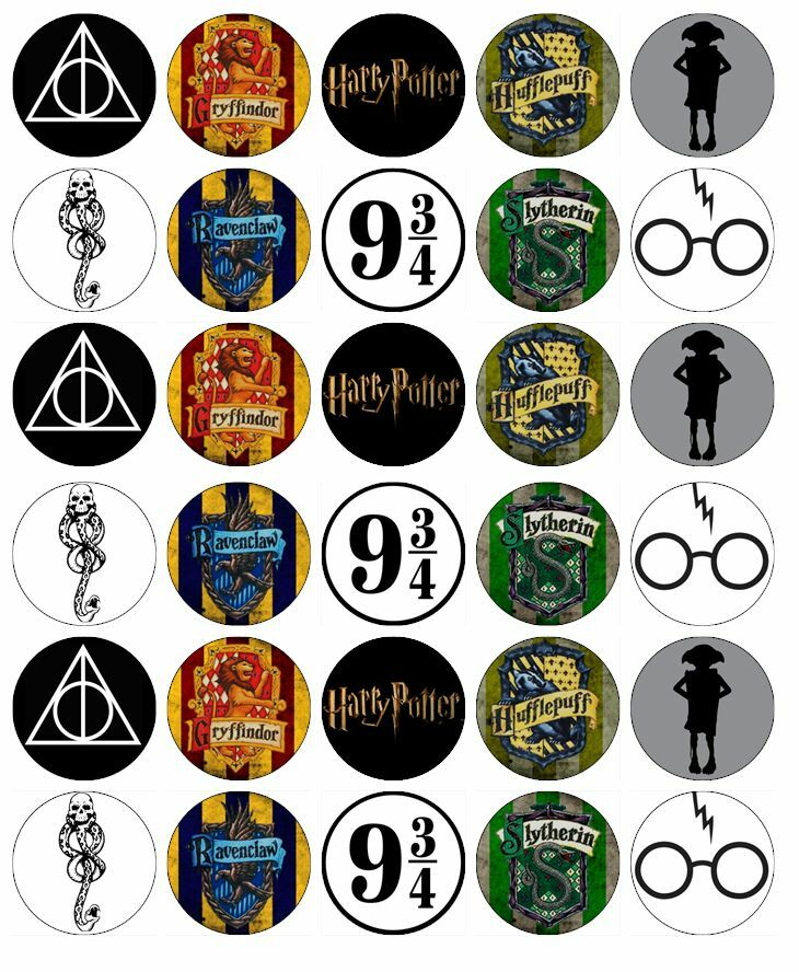 Harry Potter Edible Cake Toppers Uk