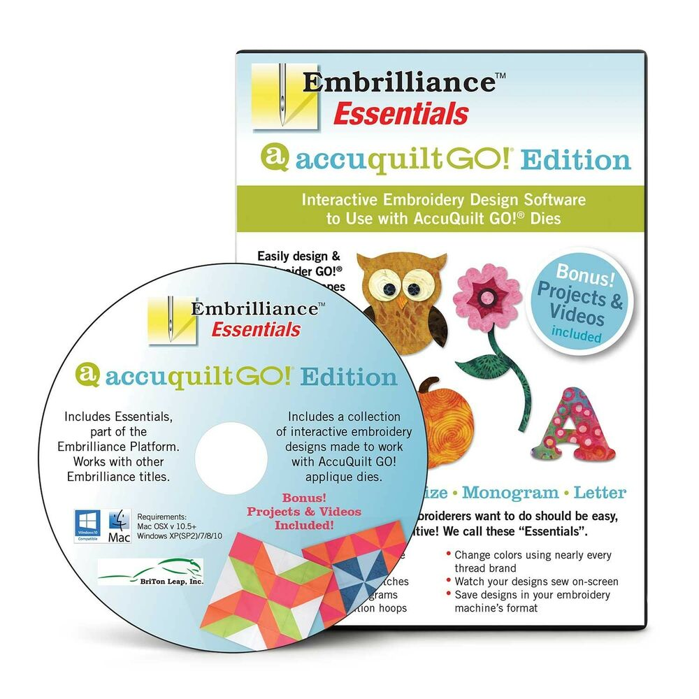 Embrilliance Embroidery Software Crack