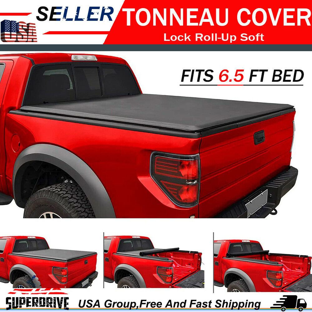 Dodge Bed Covers: Premium Lock Roll Up Tonneau Cover For 94-01 Dodge Ram