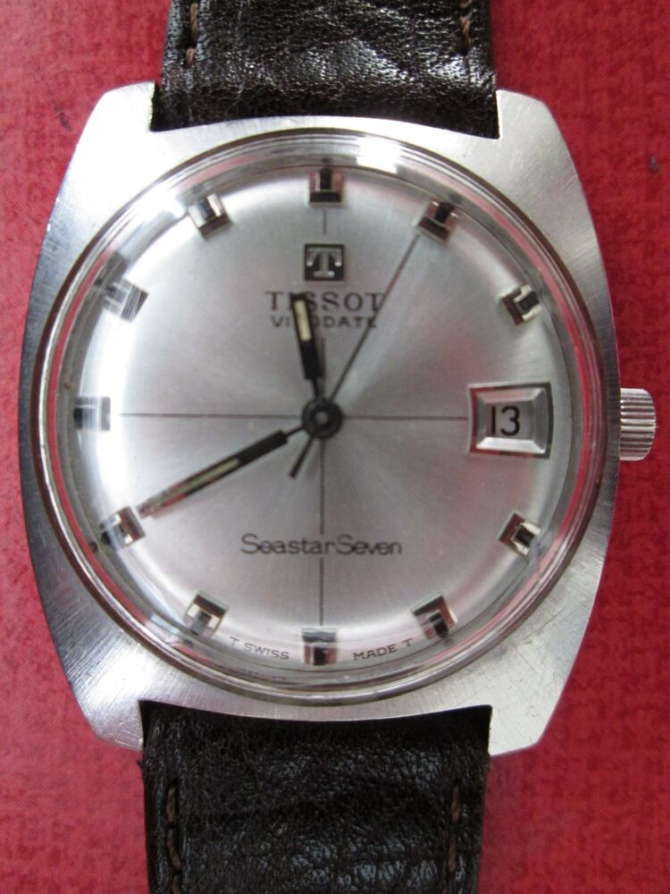 Tissot seastar seven visodate vintage watch ebay for Watches on ebay