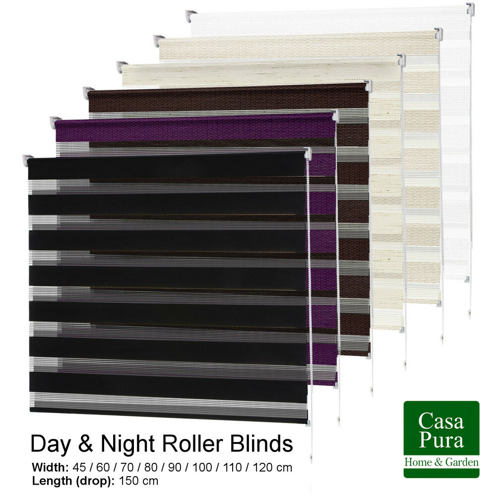 Day Amp Night Light Filter Roller Blind Dual Function