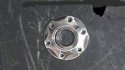 Chrome Steering Wheel Center Cap/Ring/Bezel - 3 1/2